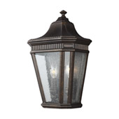 Traditional Cotswold Lane 2 - Light Outdoor Wall Lantern - Feiss OL5423GBZ