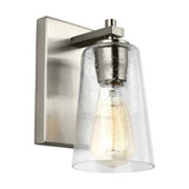 Traditional Mercer 1 - Light Wall Sconce - Feiss VS24301SN