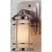 Contemporary Lighthouse Outdoor Wall Mount Lantern - Feiss OL2200BS