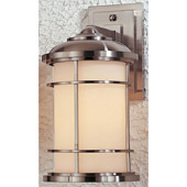 Contemporary Lighthouse Outdoor Wall Mount Lantern - Feiss OL2201BS