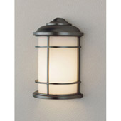 Transitional Lighthouse Outdoor Wall Lantern - Feiss OL2203BB