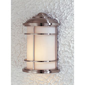 Transitional Lighthouse Outdoor Wall Lantern - Feiss OL2203BS