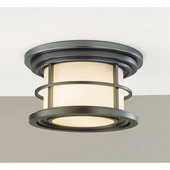 Transitional Lighthouse Outdoor Ceiling Fixture - Feiss OL2213BB