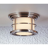 Transitional Lighthouse Outdoor Ceiling Fixture - Feiss OL2213BS