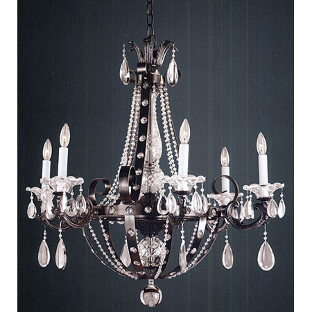 Glow Lighting 547hd6lmp 7 Crystal Medieval Castle Chandelier