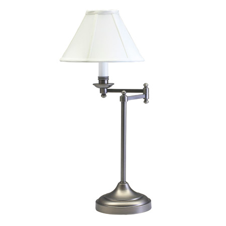 House of Troy CL251-AS Club Swing Arm Table Lamp