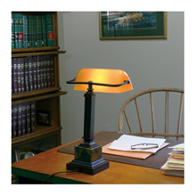 House of Troy DSK430-MB Shelburne Desk Lamp