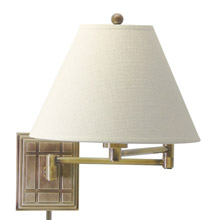 House of Troy WS750-AB Swing Arm Wall Lamp