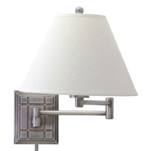 House of Troy WS750-AS Swing Arm Wall Lamp