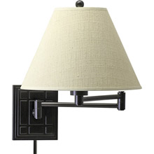 House of Troy WS750-OB Swing Arm Wall Lamp