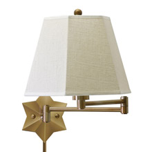 House of Troy WS751-AB Swing Arm Wall Lamp
