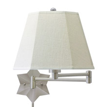 House of Troy WS751-AS Swing Arm Wall Lamp