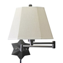 House of Troy WS751-OB Swing Arm Wall Lamp