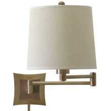 House of Troy WS752-AB Swing Arm Wall Lamp