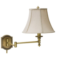 House of Troy WS761-AB Bead Swing Arm Wall Lamp
