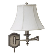 House of Troy WS761-AS Bead Swing Arm Wall Lamp