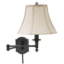 House of Troy WS761-OB Bead Swing Arm Wall Lamp