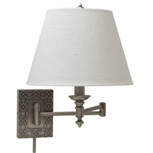 House of Troy WS763-AS Knot Swing Arm Wall Lamp