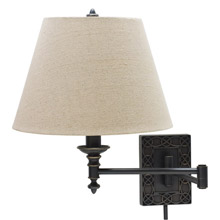 House of Troy WS763-OB Knot Swing Arm Wall Lamp