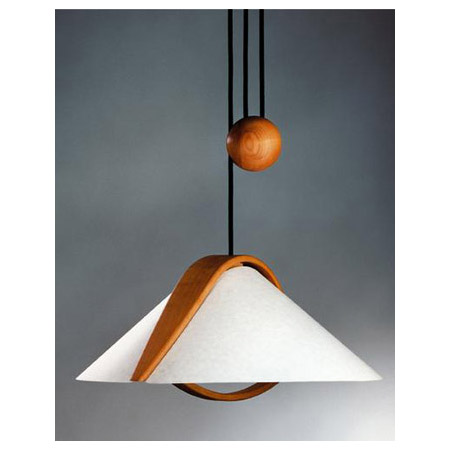 Justice Design Dom 8551 Domus Arta Alder Pull Down Light