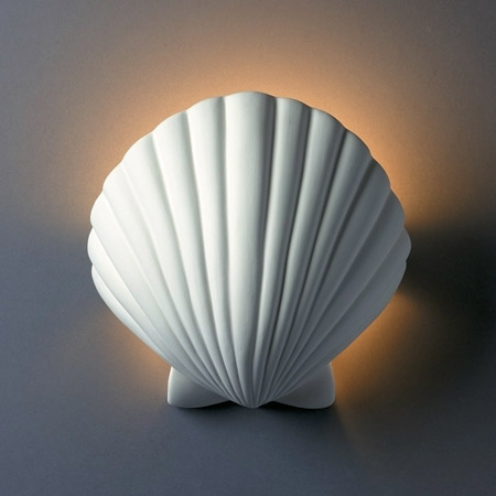 Justice Design Cer 3730 Bis Ambiance Ada Scallop Shell
