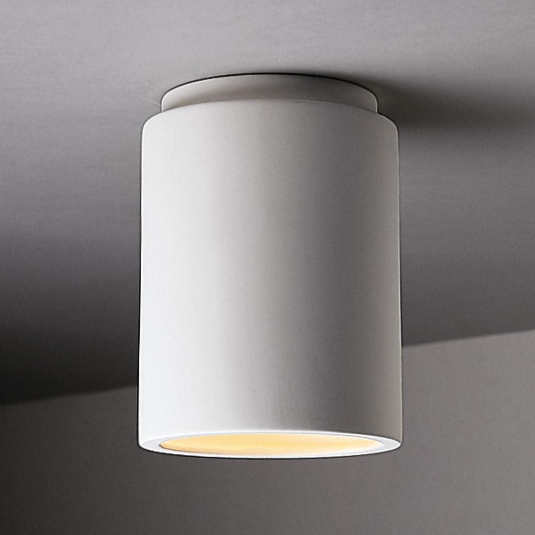 Justice Design Cer 6100 Bis Radiance Cylinder Flush Mount Ceiling Fixture