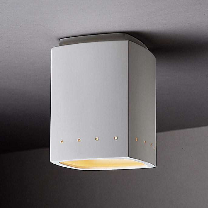 rectangular flush mount ceiling light 30 inch justice design cer6115bis radiance rectangle flush mount ceiling fixture