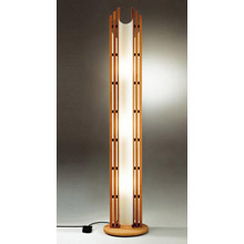 Asian floor lamps lamps beautiful justice design dom 8000 domus manhattan beech floor lamp aloadofball Images