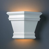 Traditional Ambiance Americana Outdoor Wall Sconce - Justice Design CER-1411W-BIS