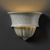 Traditional Ambiance Capri Wall Sconce - Justice Design CER-1485-CKC