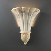 Traditional Ambiance Venezia Wall Sconce - Justice Design CER-1490-TRAG