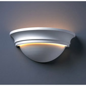 Traditional Ambiance Large Cyma Wall Sconce - Justice Design CER-1515-BIS