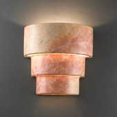 Ambiance Small Terrace Wall Sconce - Justice Design CER-2225-STOA