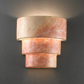 Ambiance Small Terrace Outdoor Wall Sconce - Justice Design CER-2225W-STOA
