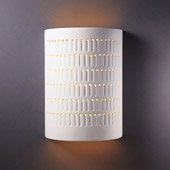Ambiance Large Cactus Cylinder Wall Sconce - Justice Design CER-2295-BIS