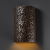 Ambiance Large ADA Cylinder Wall Sconce - Justice Design CER-5260-HMIR