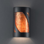 Ambiance Small ADA Lantern Wall Sconce - Justice Design CER-5325-CRB-MICA
