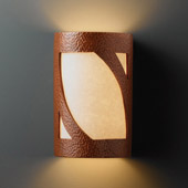 Ambiance Small ADA Lantern Wall Sconce - Justice Design CER-5325-HMCP