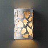 Casual Ambiance Large ADA Cobblestones Wall Sconce - Justice Design CER-5455-BIS