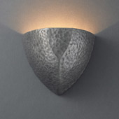 Ambiance Small ADA Ambis Wall Sconce - Justice Design CER-5800-HMPW