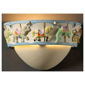 Kid's Carousel Wall Sconce - Justice Design Group KID-3360