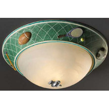 Justice Design KID-6194 Kid's Sports 17 In. Flush Mount Ceiling Fixture
