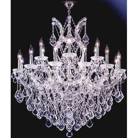 James Moder Chandeliers: James Moder 91790S22 Crystal Maria Theresa Grand Nineteen Light Chandelier,Lighting