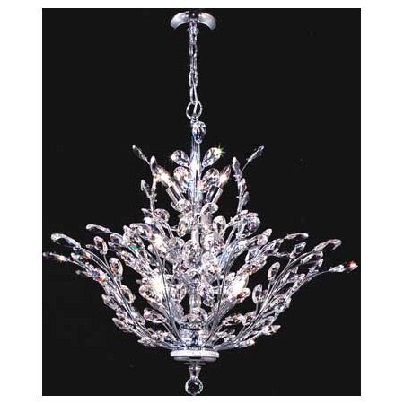 James R Moder 94457s22 Crystal Florale Thirteen Light