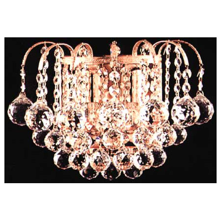 James R. Moder 94802G22 Crystal Jacqueline Wall Sconce