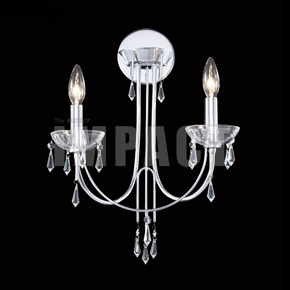 f6b3ab2a58182 Crystal Rain IMPACT Wall Sconce - James R. Moder 40882S22