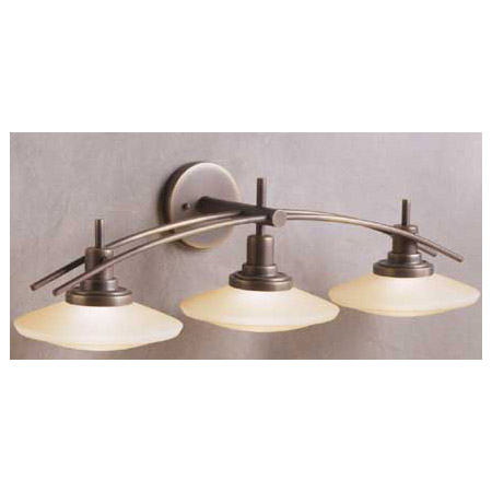Vanity Lights Kichler : Kichler 6463OZ Structures Vanity Light