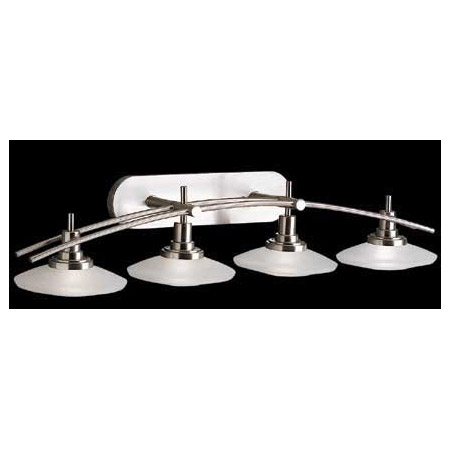 Vanity Lights Kichler : Kichler 6464NI Structures Vanity Light