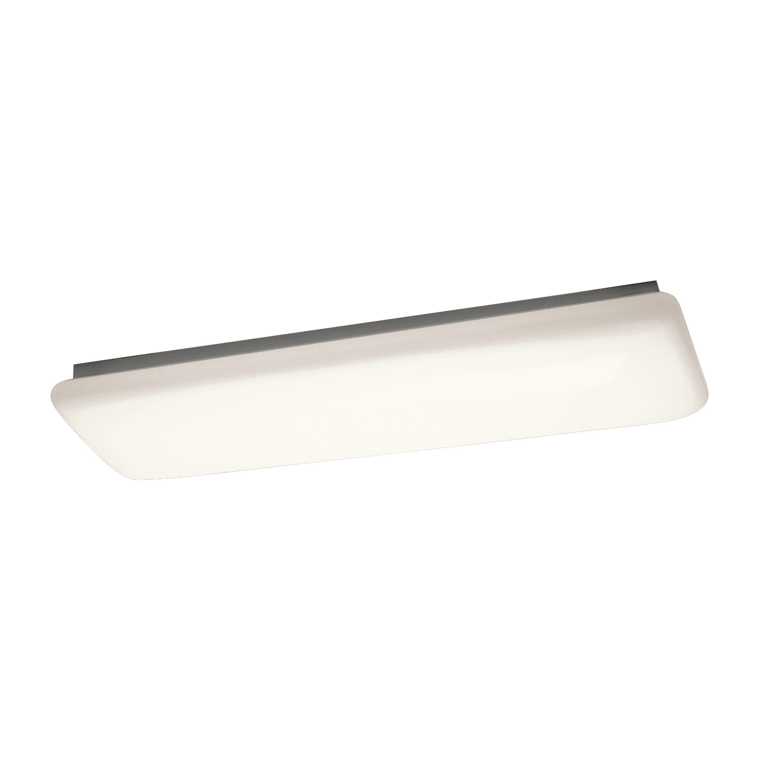 Kichler WH Fluorescent Fixture Group Energy Efficient Flush - Energy efficient kitchen ceiling lighting
