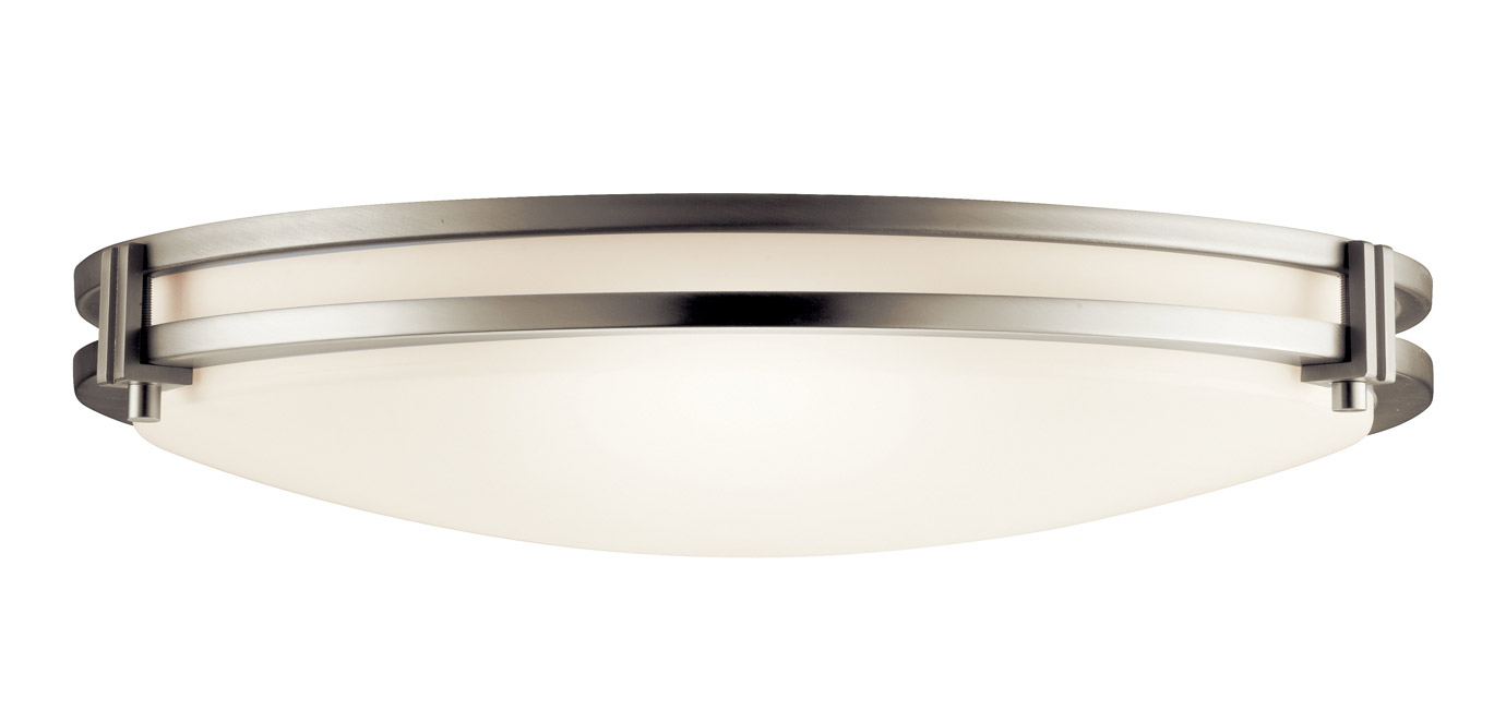 Kitchen Flush Mount Ceiling Lights Kichler 10827ni flush mount ceiling fixture workwithnaturefo